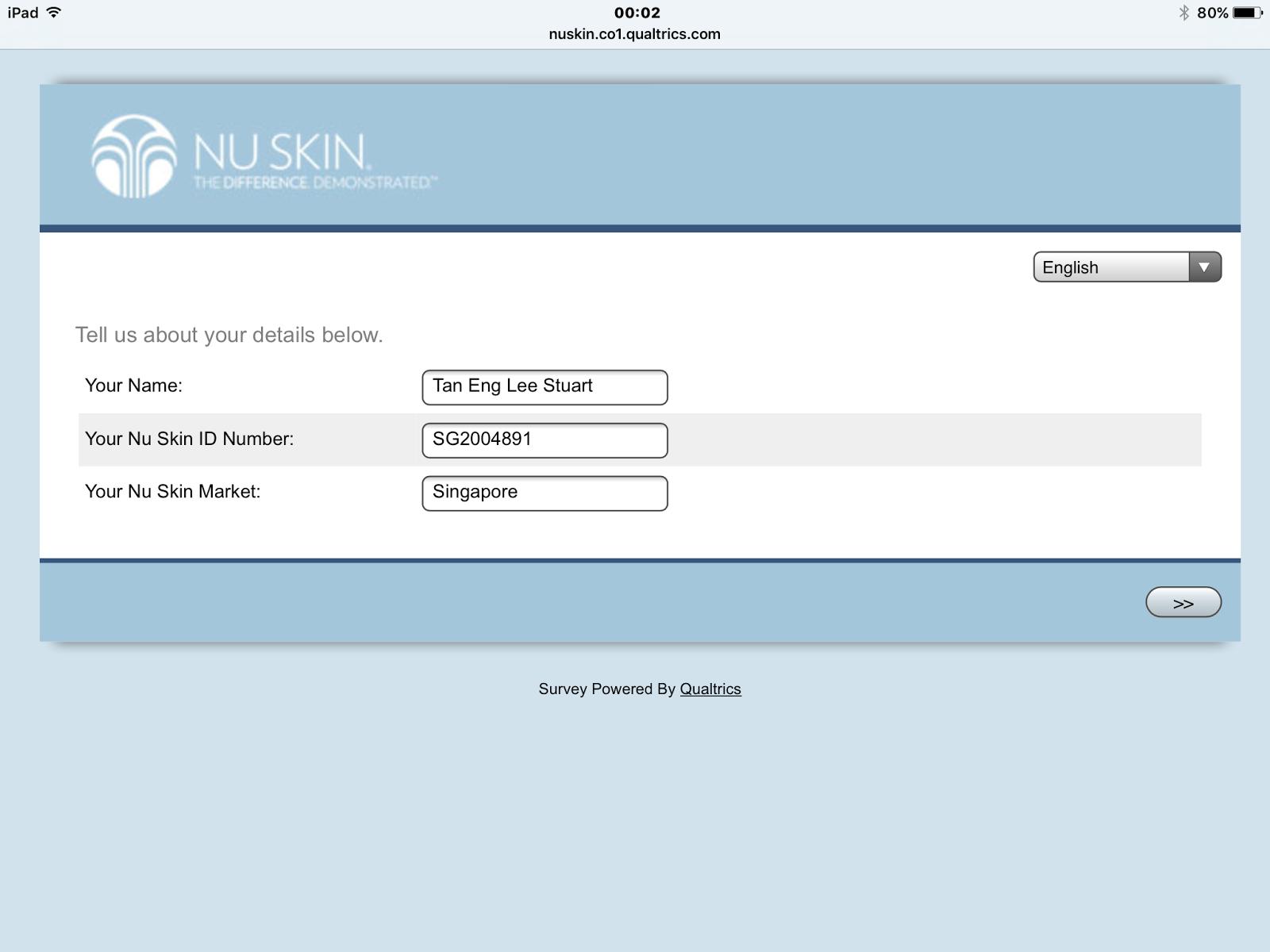Nu Skin Sea Loi Certification Test Submitting Loi Certification Test