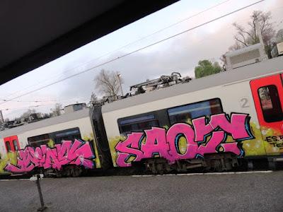 trainwriting