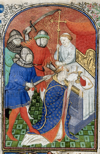 who was responsible for the death of thomas becket