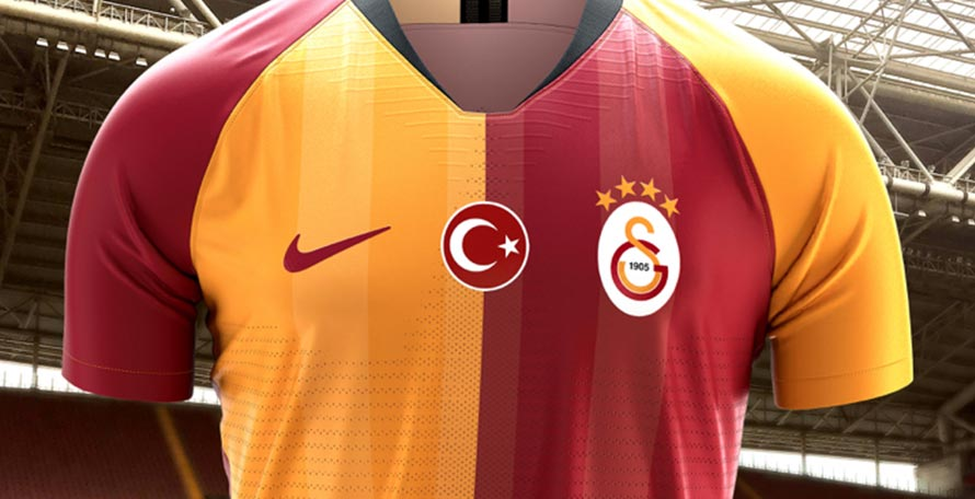 buy popular 8e6fb 46000 Galatasaray 19-20 Home Kit Revealed - Footy Headlines