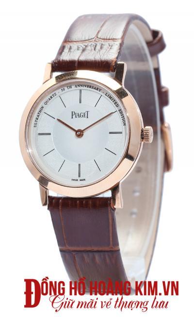 mua đồng hồ dây da nữ đẹp