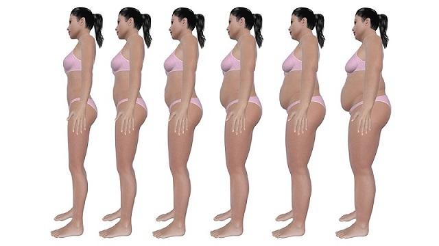 kadın kilo verme görseli
