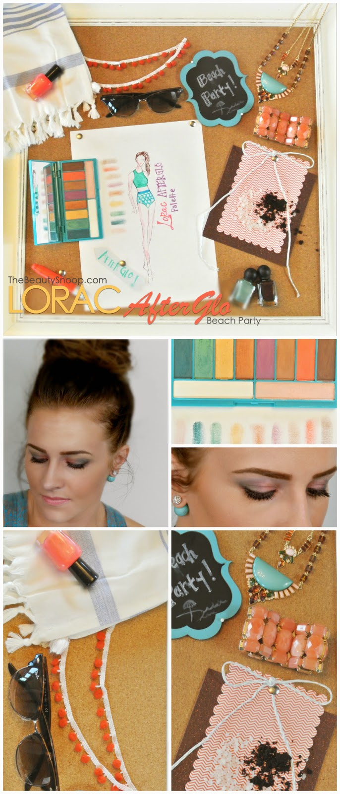 Lorac Makeup, Beach Palette, After Glo Palette, Lorac Review
