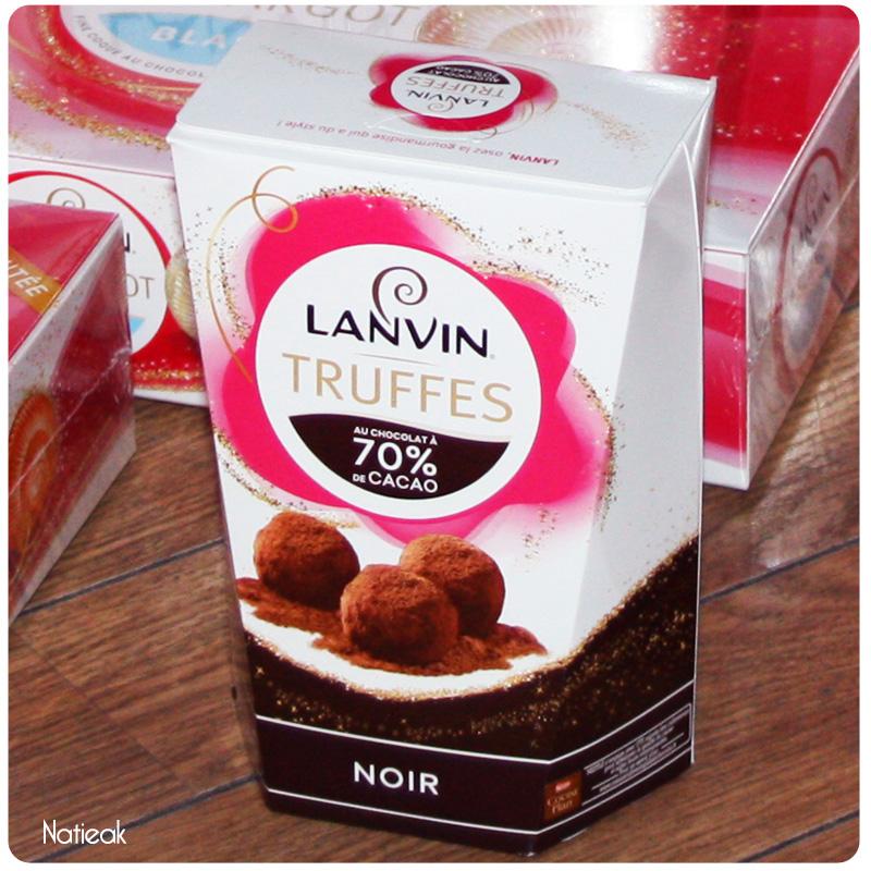 Chocolat Lanvin  Truffes noires
