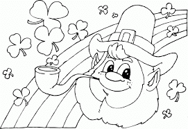 St-Patrick's-day-Coloring-Pictures