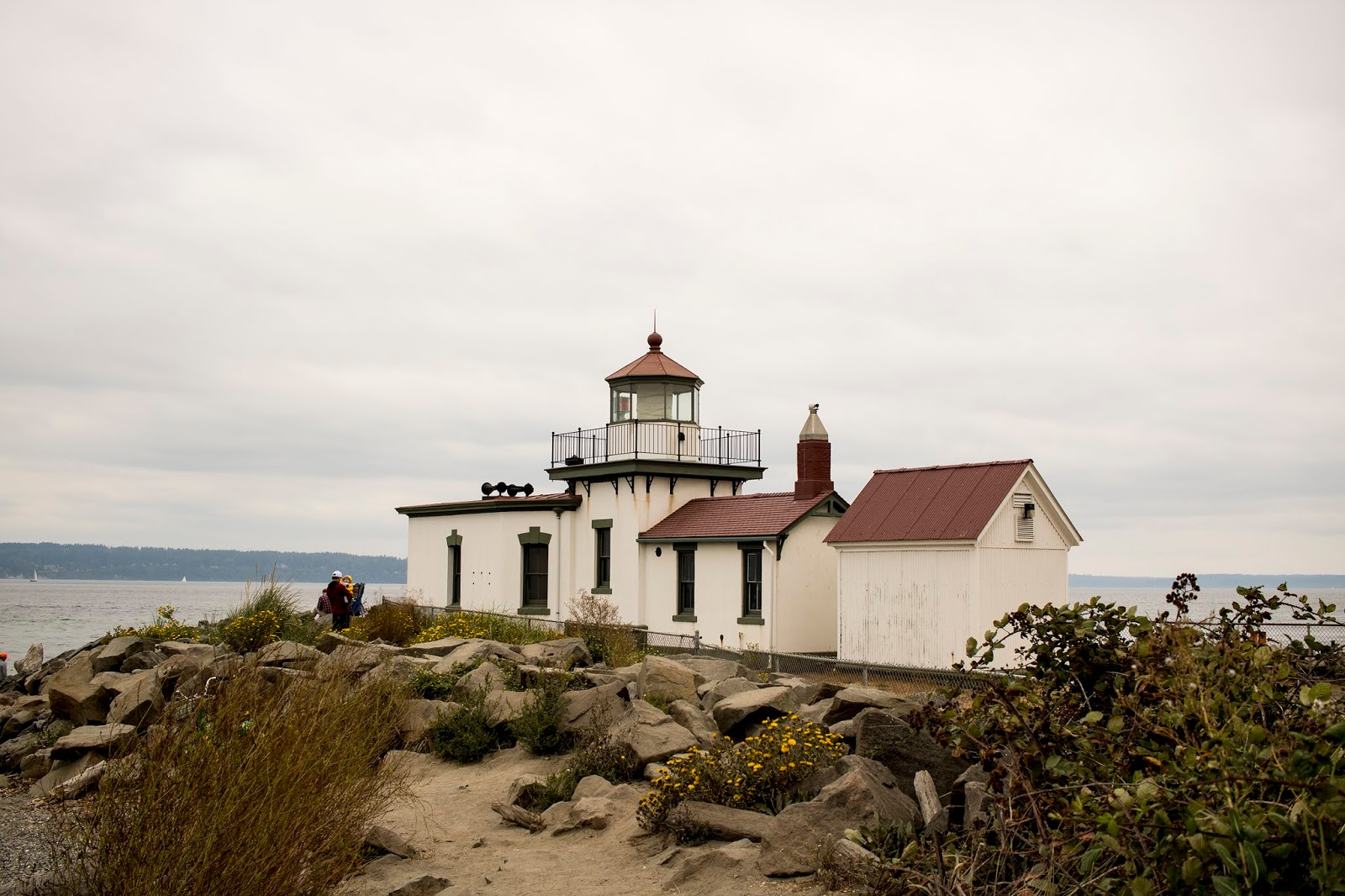West Point Lighthouse, Discovery Park, Seattle, things to do in Seattle, Lumiére and Lens