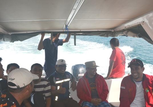 Speedboat Layanan Kesehatan, Untuk Warga Kepulauan Di Ujicoba