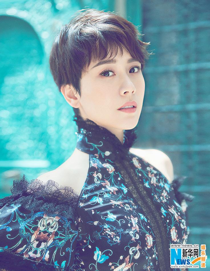 Hai Qing covers fashion magazine