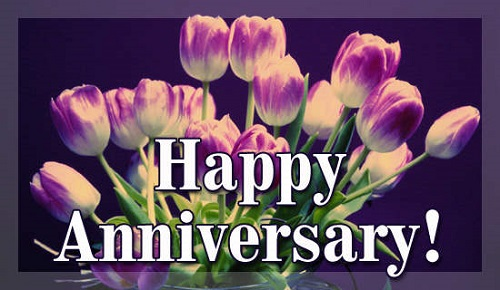Happy Anniversary Flower Ideas - Traditional Flowers of Wedding Anniversary