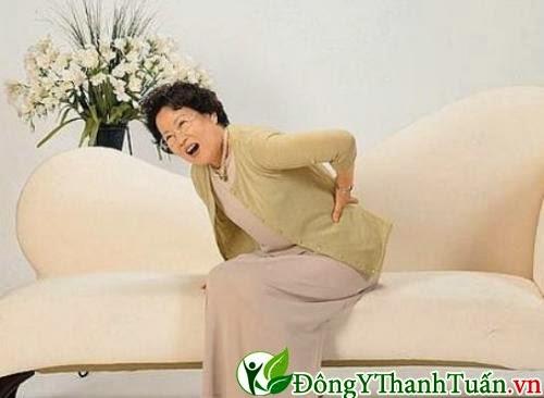 Bệnh đau lưng ở người già