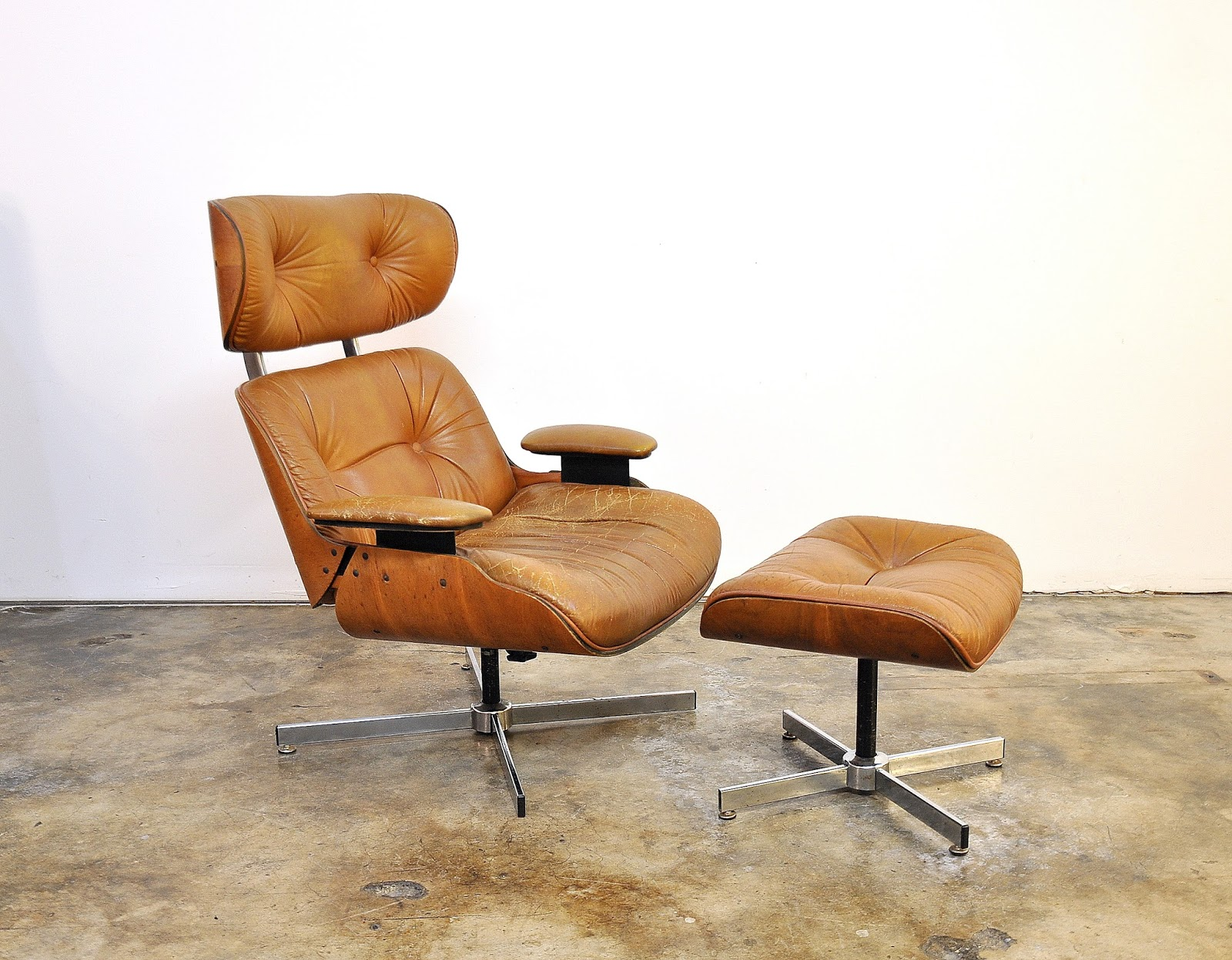 Selig Eames Chair High With Adjustable Footrest Select Modern Frank Doerner For Style