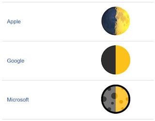 moon emoji detail