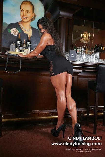 Cindy Landolt High Heels