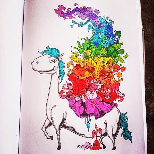 Libro de bocetos para colorear pensado en adultos