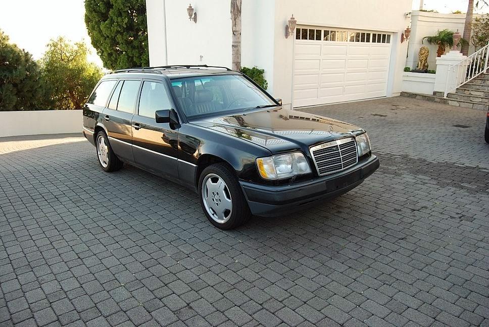 Just A Car Geek: A Very Nice 1995 Mercedes-Benz E320 Wagon