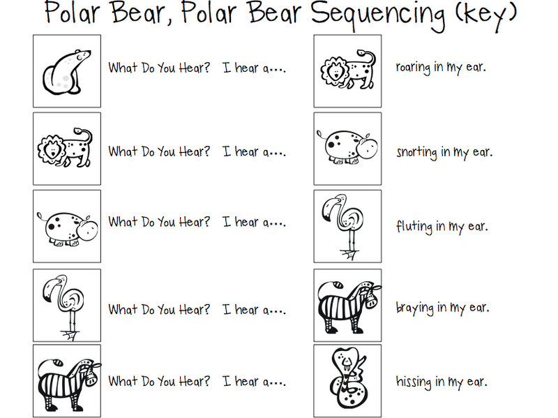 You Bear Sequencing Cards Hear Polar What Do Bear Polar