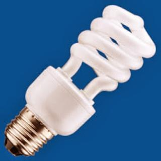 Instalaciones eléctricas residenciales - lámpara fluorescente compacta
