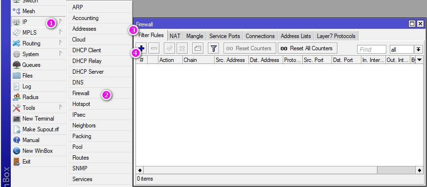 Block Remote Access : Webfig