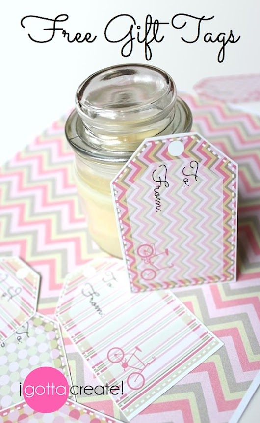 I Gotta Create!: Free Printable Gift Tags ~ Soft and Pink