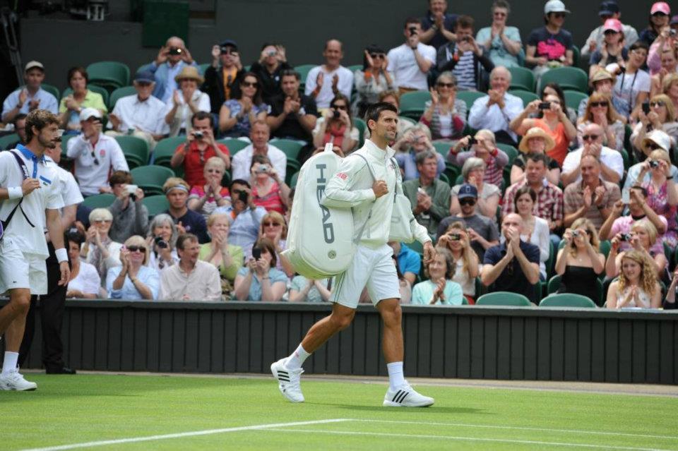 Tennis Boulevard Novak Djokovic Premieres Head Bag At Wimbledon