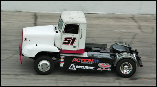 Nicholas Seidel makes his Bandit Series debut in the #51 truck at Salem Speedway in Indiana on Saturday, July 14th