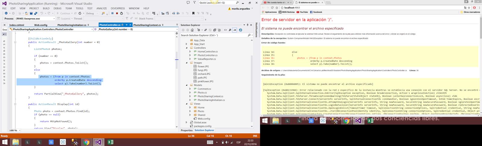 Pedacitos de Programación C# y SQL: 2016