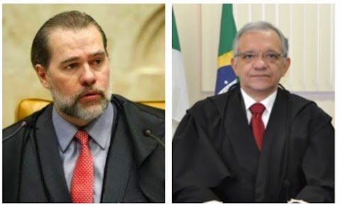 Presidente do STF Dias Toffoli está em Natal para posse do presidente do TJ João Rebouças e faz visita à Justiça Federal