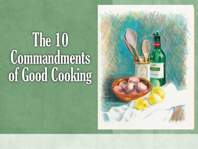slideshow of the fundamentals of good cooking