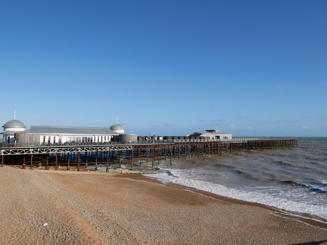 Hasting pier basking in the September sun