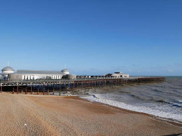 Hasting pier basking in the September sun