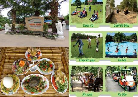 Những kinh nghiện cần thiết đi khu du lịch Vườn Xoài