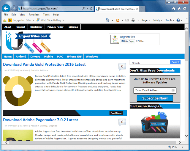 Browse Web with IE 11 latest
