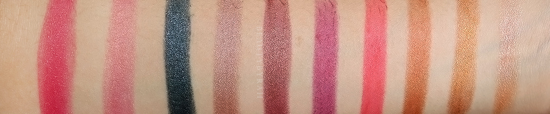 Maybelline Matte Metallics Lipsticks Review and Swatches