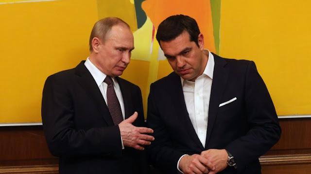 """Ολάντ: """"Ο Πούτιν μου είπε πως η Ελλάδα του ζήτησε να τυπώσει δραχμές στη Ρωσία"""""""