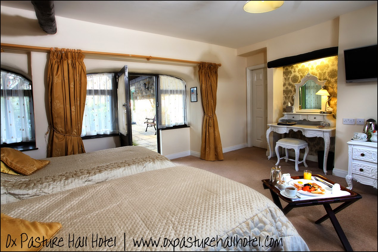 Cozy interior of a room at Ox Pasture Hall Hotel | Anyonita-nibbles.co.uk