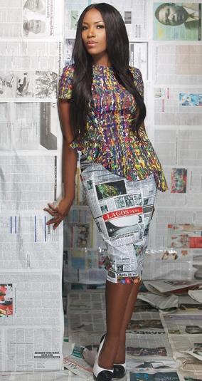 Photos from Linda Ikeji's Mania magazine shoot