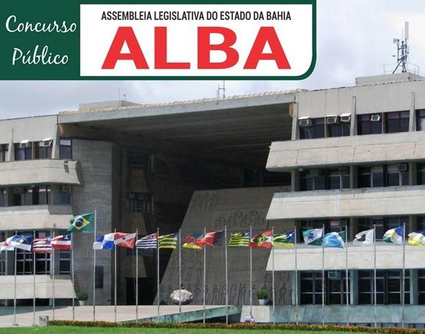 Concurso da ALBA (Apostilas Assembleia Legislativa da Bahia)