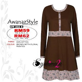 T-Shirt-Muslimah-Awanazstyle-AW002E