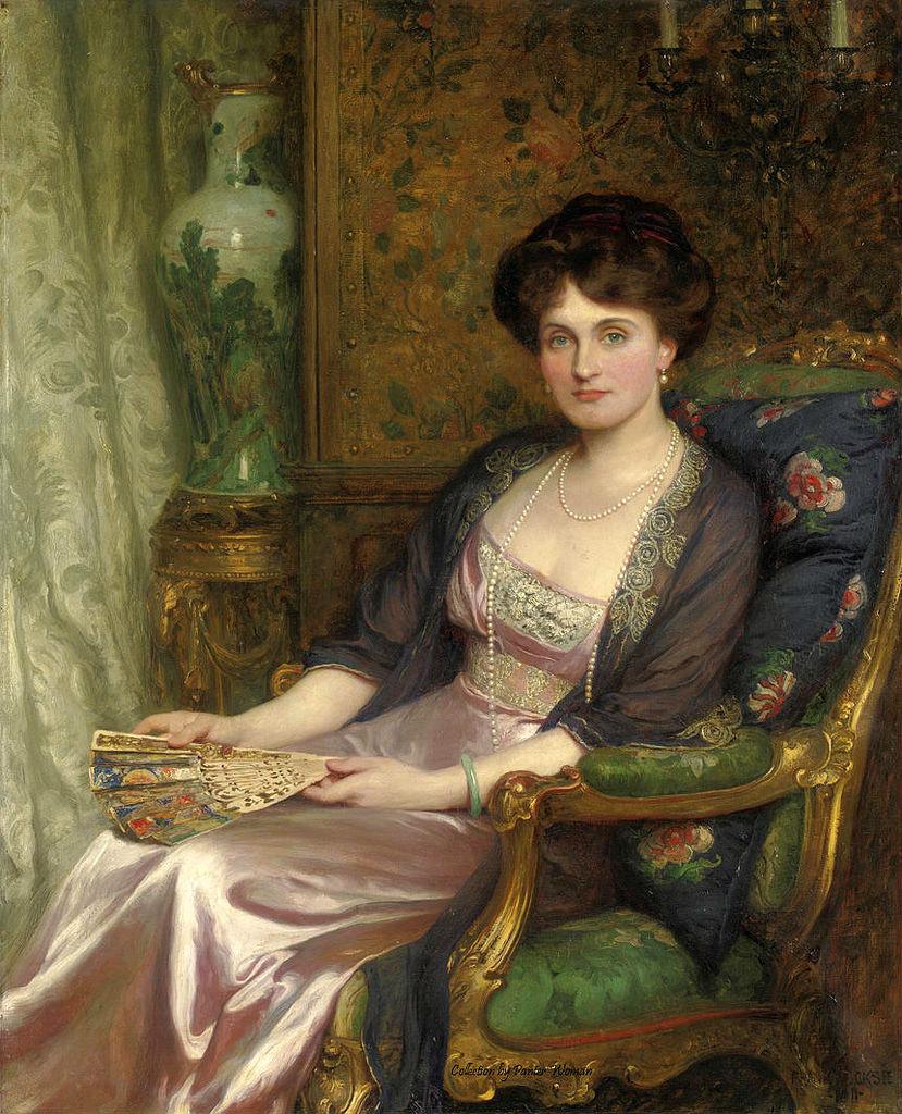 Frank DICKSEE Mrs George Pinckard 1911