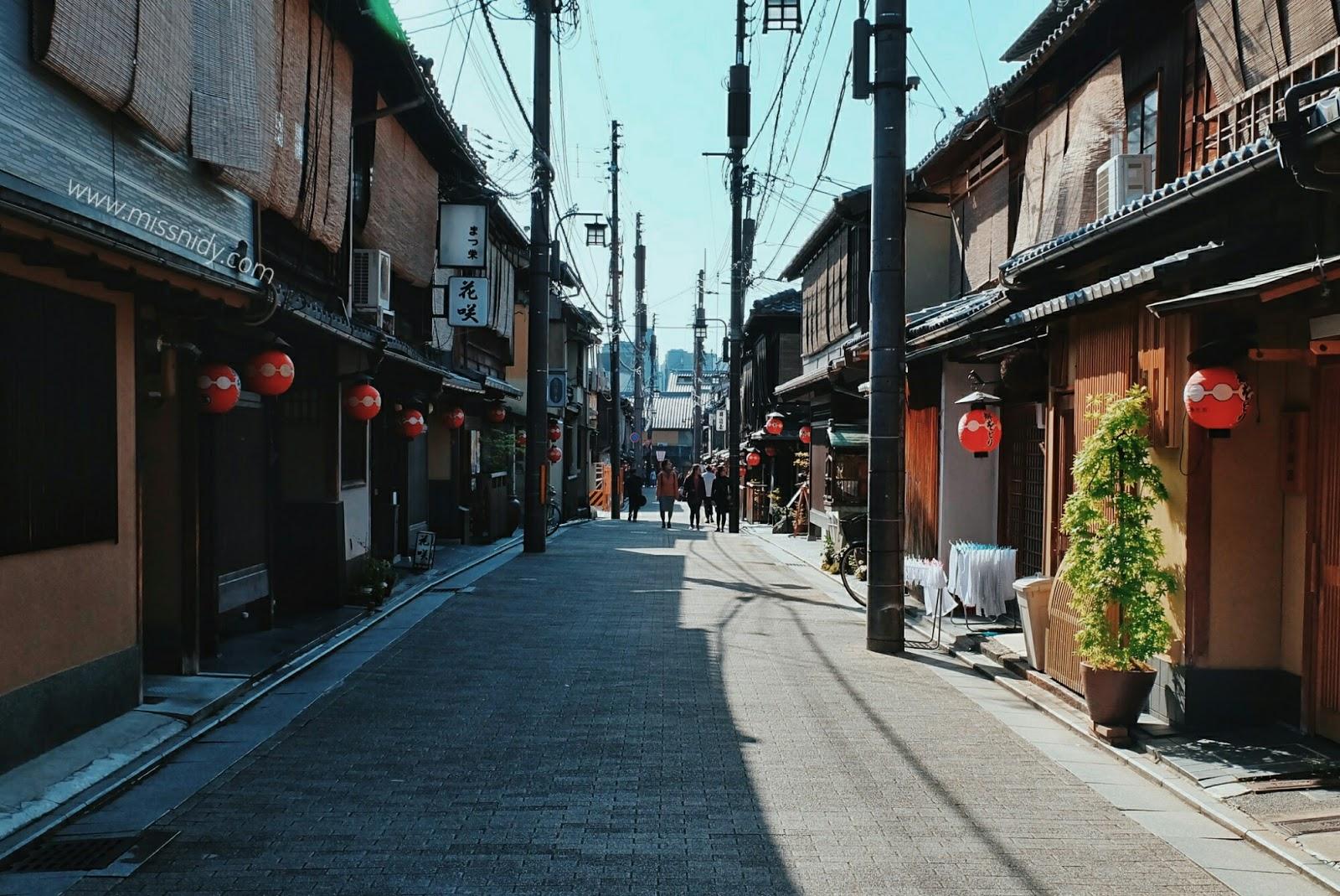 keliling gion kyoto