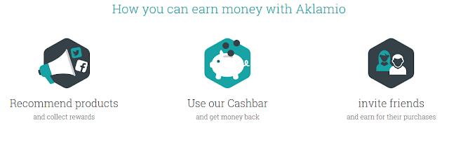 Cara Mendapat Uang dari Aklamio