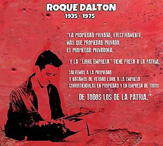 Roque Dalton, el poeta guerrillero