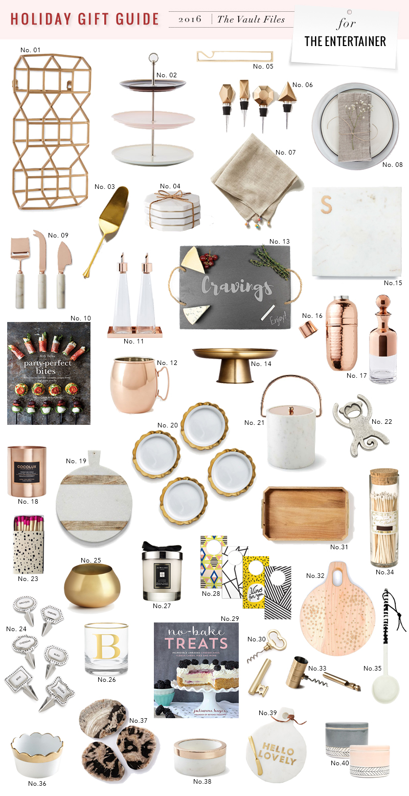 shopping file holiday gift guide for the entertainer the vault rh thevaultfiles com holiday gift ideas blog holiday gift guide bloggers