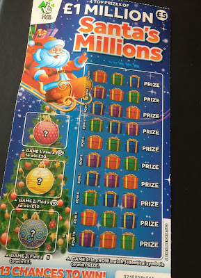 Santa's Millions Scratch Card