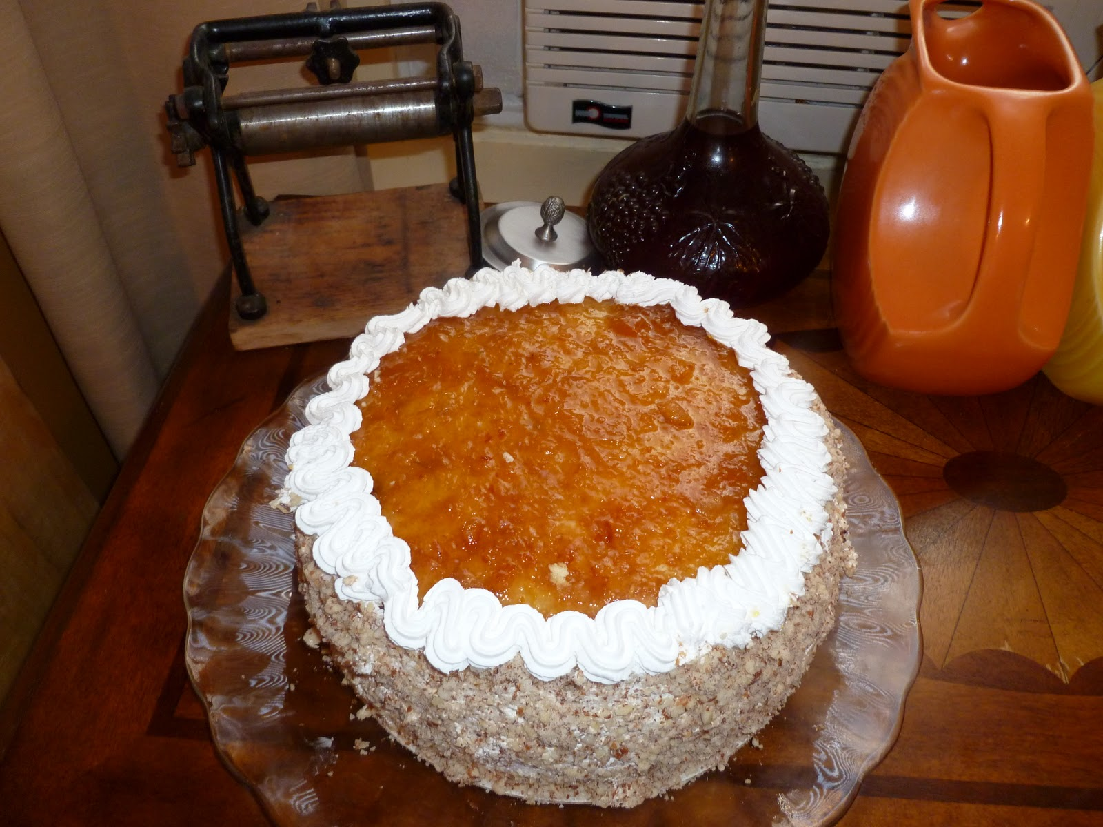 Italian Rum Cake Recipes From Scratch: I Like To Bake And Cook Blog: Eating In Nonna's Kitchen! A