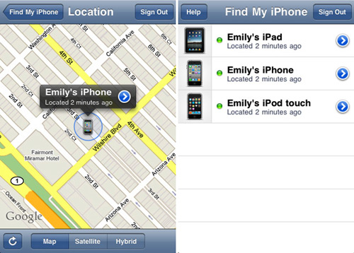 Find Iphone Online