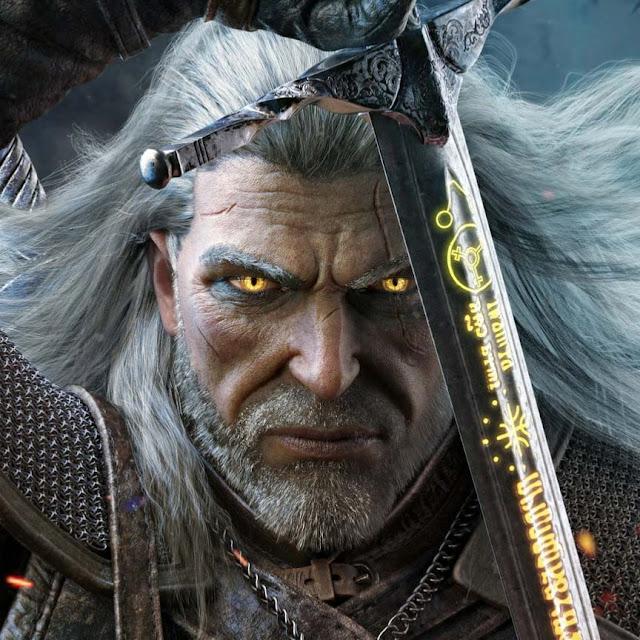 Geralt (The Witcher) Wallpaper Engine