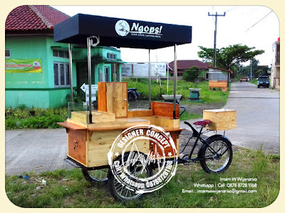 produksi gerobak sepeda kopi ngops