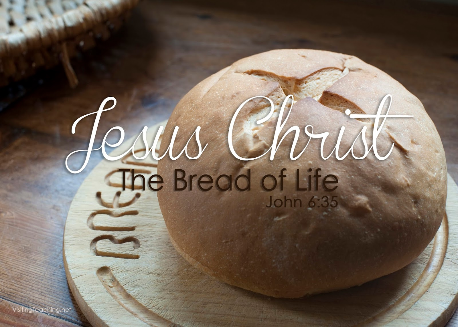 jesus christ the living bread his words is light