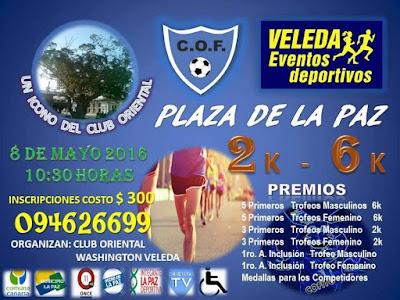 6k y 2k Ciudad de La Paz (Canelones, 08/may/2016)